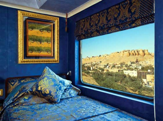 A Glimpse of the Rooms Aboard The Palace on Wheels