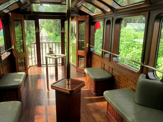 The Hiram Bingham Observation Car