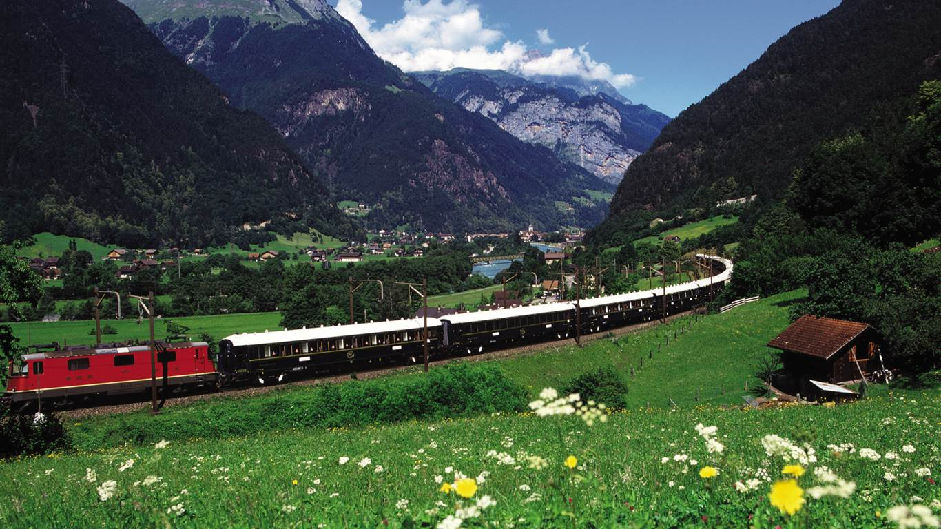 The Venice Simplon Express