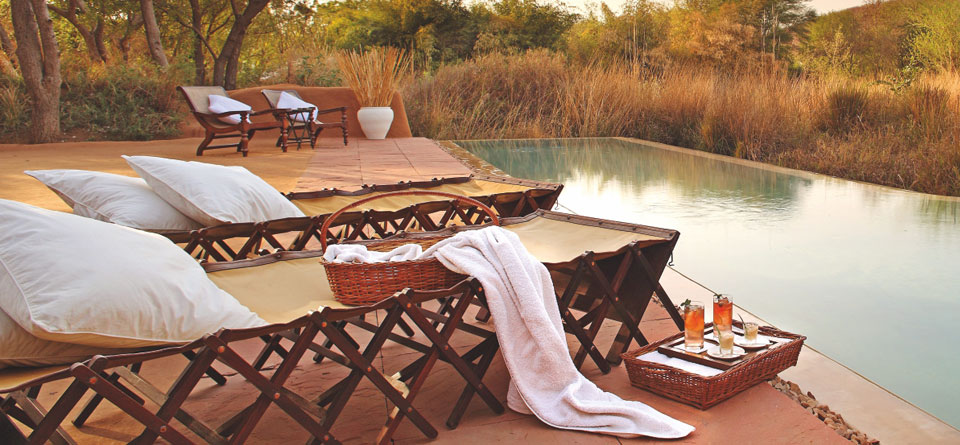 Glamping does not always mean taking away comforts, sometimes it means adding new comforts. Photo Credit: Sher Bagh, Ranthambore